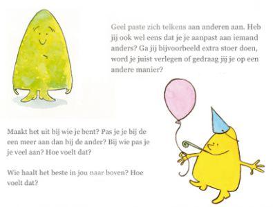Vragen uit het boek Hoe Geel weer geel werd